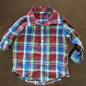 babyGap Toddler boy 3T Button Down Convertible